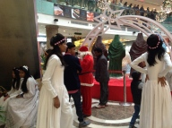 Santa and his Angels, Ambience Mall