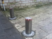 Deployable bollards
