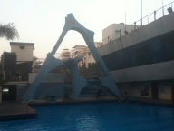 3 tiered diving platform, Khar gymkhana