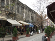 The outside wall of the Grand Bazaar