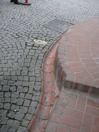 Drainage tiles on every street