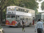 Double decker bus. Most of what I saw were Leylands