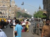 Outside Mumbai CST. I will see about posting some video